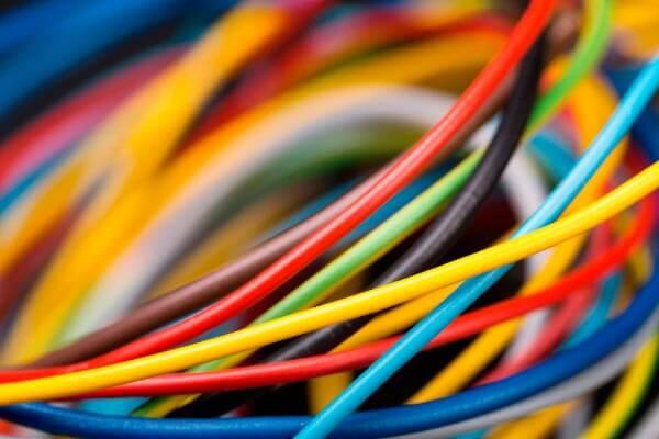 Cable eléctrico reciclaje